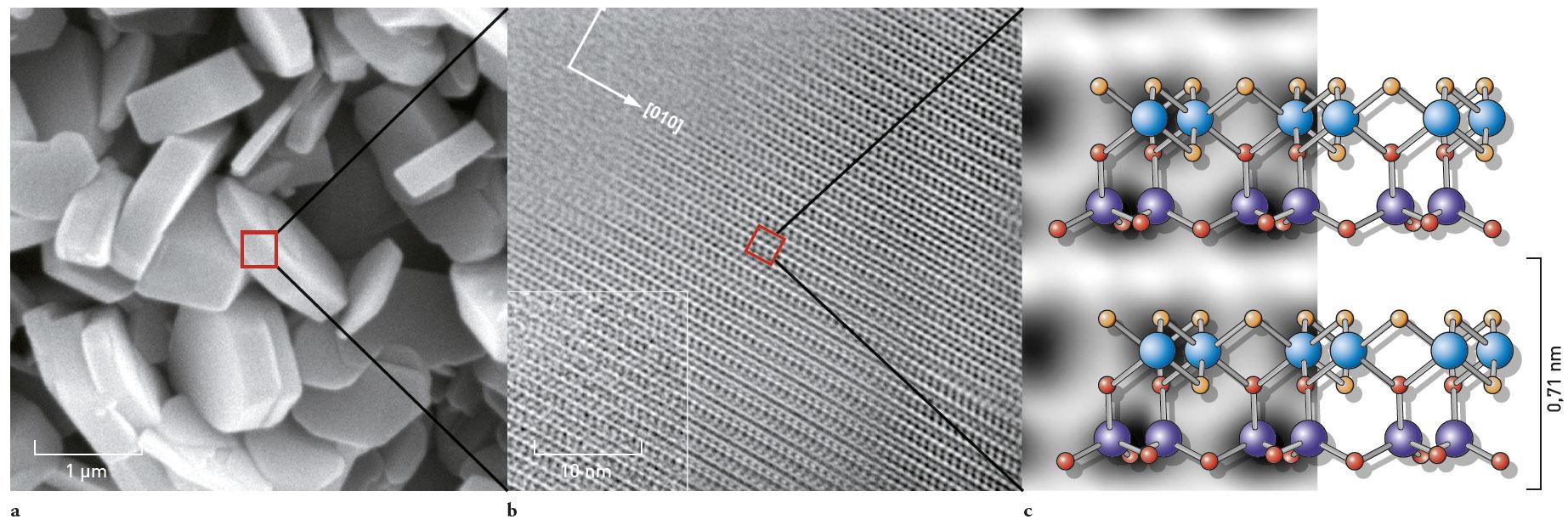 focus sur une plaquette d'argile - amàco