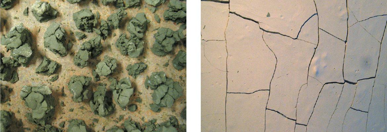 Fissuration de boues d'argiles - amàco