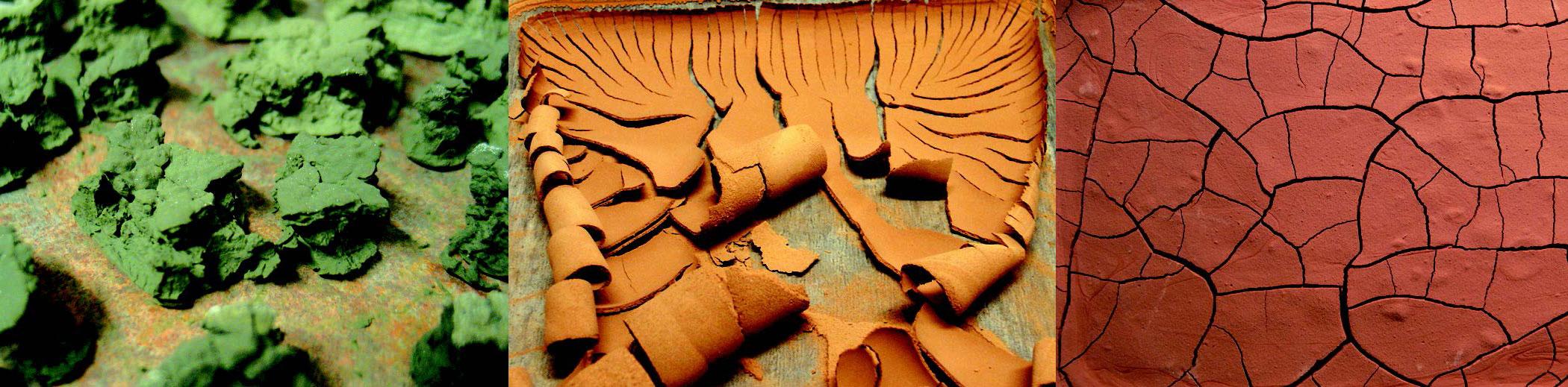 Fissuration des argiles kaolinite et smectite - amàco